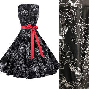 NWT Vintage-Style  Anni CoCo Sleeveless Dress Sz M